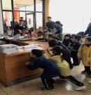 Niños y Niñas de Prebásica visitan dependencias administrativas y a Autoridades de nuestro Colegio
